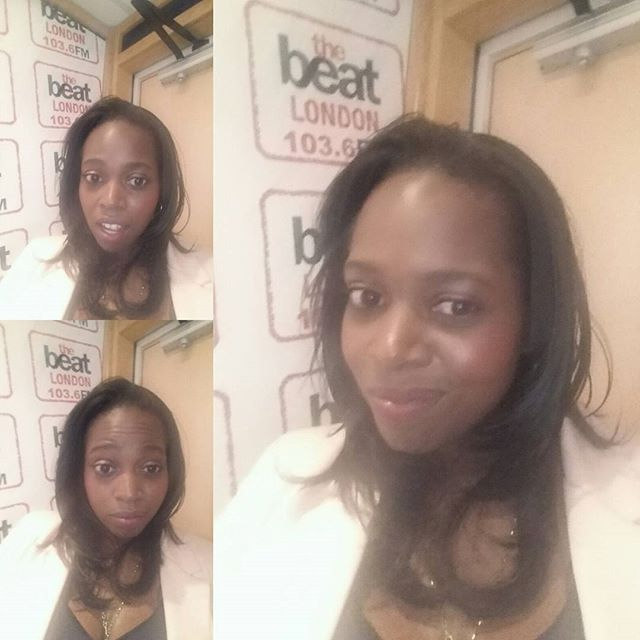 #jokes today on _thebeat1036fm with _leahcharlesking #wts #newhair #newlook #longhair #corporate loo