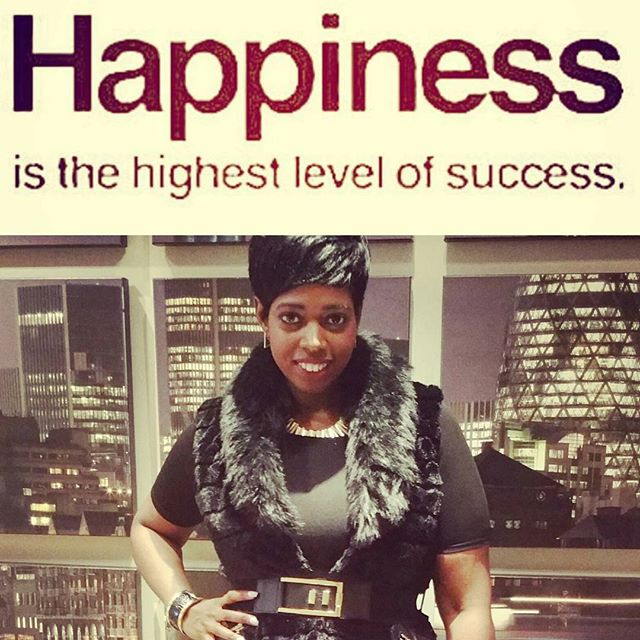 #happiness is the highest level of #success I hope you all have a happy & successful week