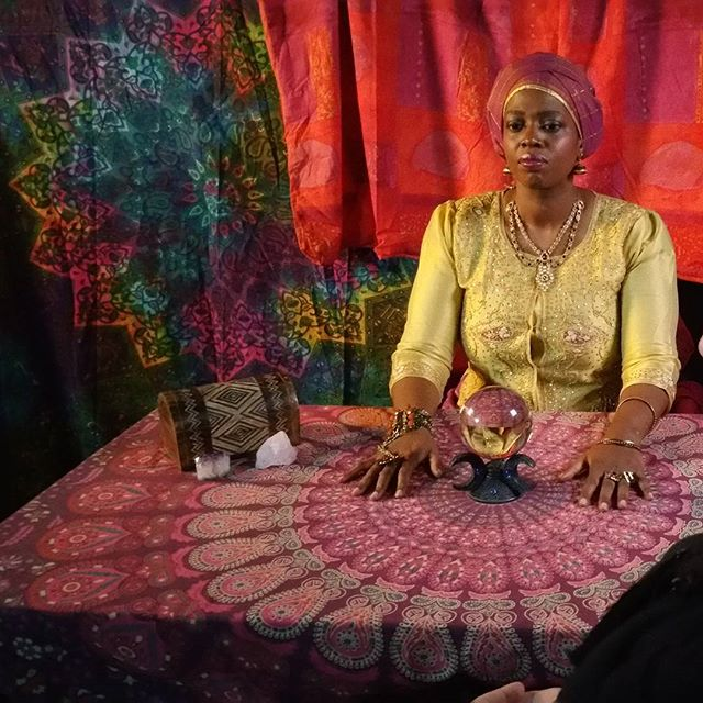 #picoftheday in the zone as #fortuneteller #mysticmel #shortfilm #film _PSYCHIC_ #comingsoon #actors