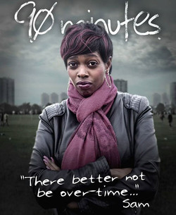 I'm doing a feature film!! #90minutes check out the promo pic