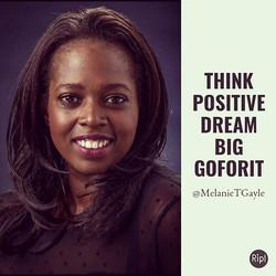 #TuesdayMotivation #Think #Positive #Dream #Big #GoForIt #focus #believe #makeithappen #PMA #LOA  #T