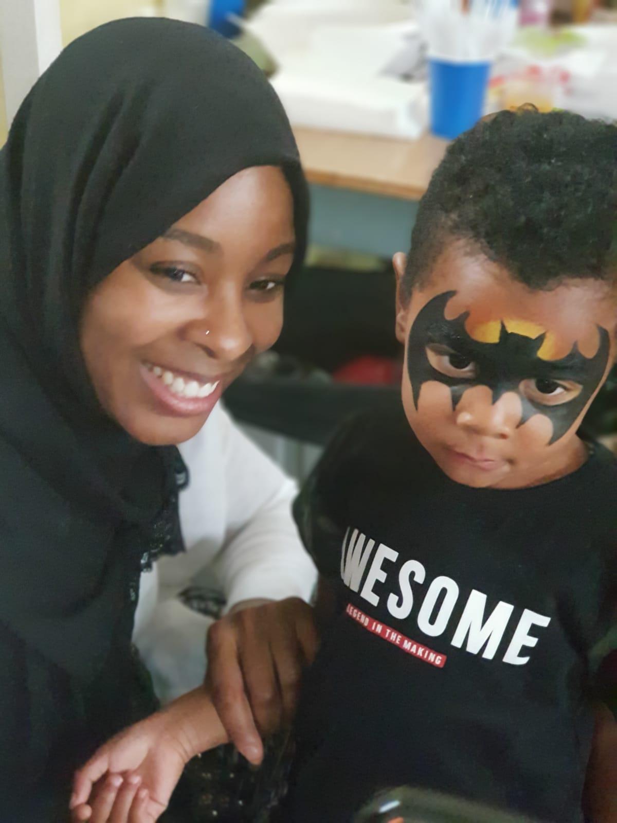 Aishah & Son