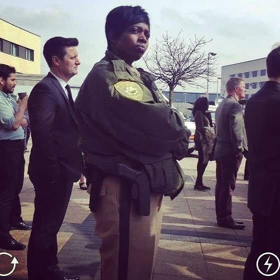 #goodtimes #memories on set #jasonbourne #lasvegas #police #policeofficer Don't mess with me when I'