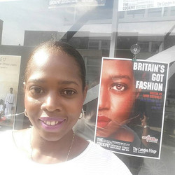 OMG got a nice suprise when I arrived _cockpittheatre yesterday for rehearsals. My lil face on displ