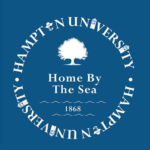 Hampton University Home By the Sea--Long Sleeve T-Shirt