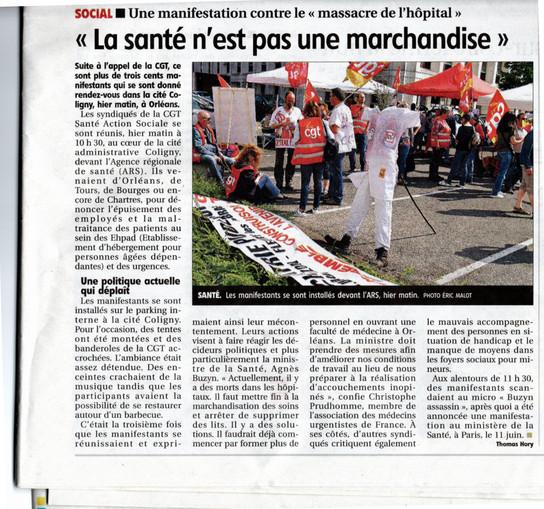 Manifestation contre le massacre de l'hôpital 4 Juin 2019