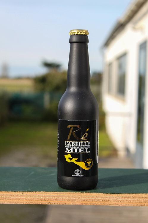Bière blonde au miel artisanale