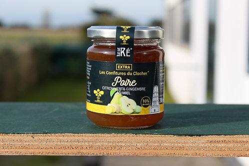 Poire / Citron vert & Gingembre au Miel