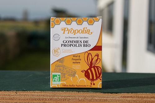 Gomme Miel & Propolis nature - Bio