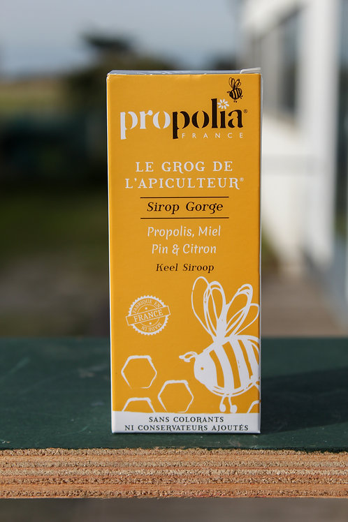 Sirop Gorge - Propolis/ Miel/ Pin & Citron