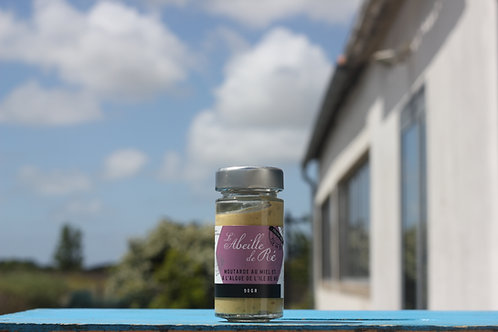 Moutarde au miel et à l'algue de l'ile de ré - 90gr
