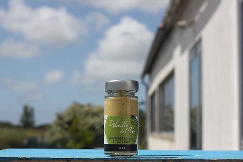 Moutarde au miel et estragon - 90gr