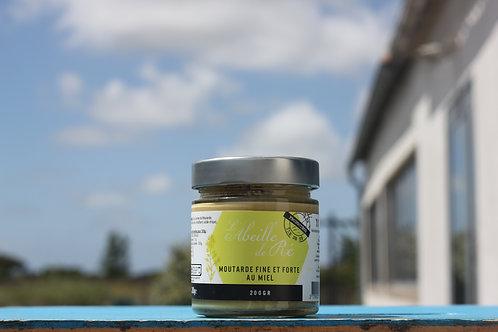 Moutarde fine et forte au miel - 200gr