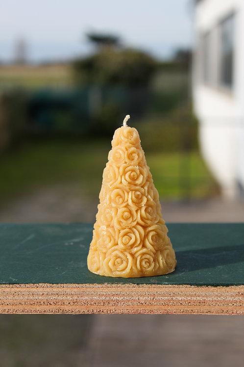 Bougie Pyramide de Roses