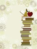 iStock-165752066 - Girl sitting on books