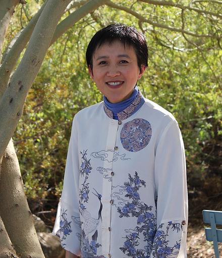 Self portrait of Susanti Cai