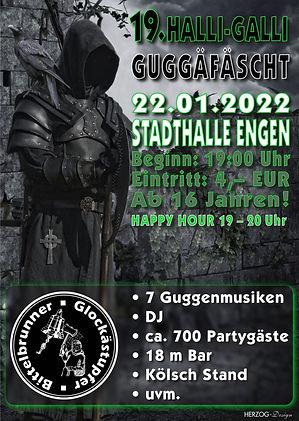 Flyer HALLI-GALLI GUGGÄFÄSCHT