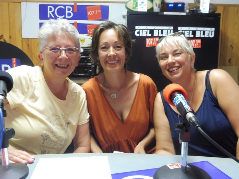 """Colette, Muriel Nadège et le """"Bien ETRE"""""""
