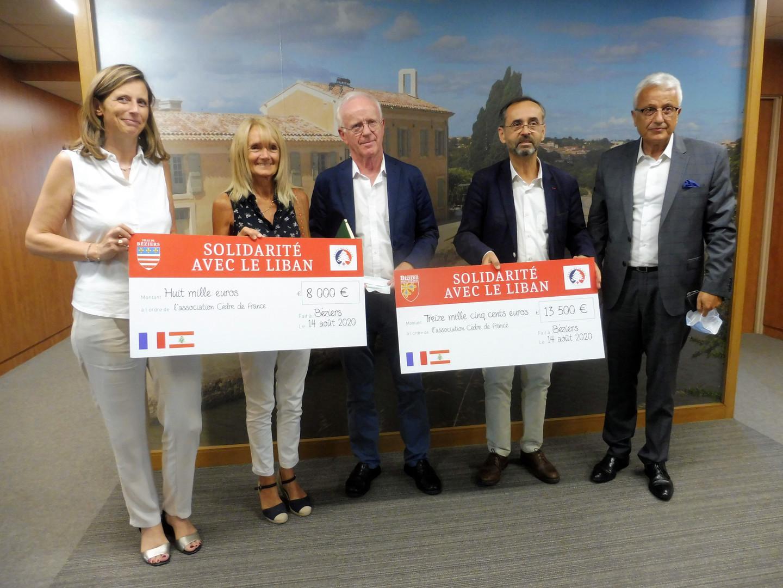 L'Agglo en soutien des victimes de BEYROUT au Liban