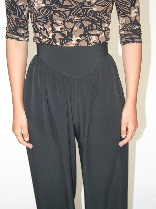 Pantalon noir 80's made in Canada