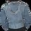 Thumbnail: Vintage 80's Jacket Jeans Breloque