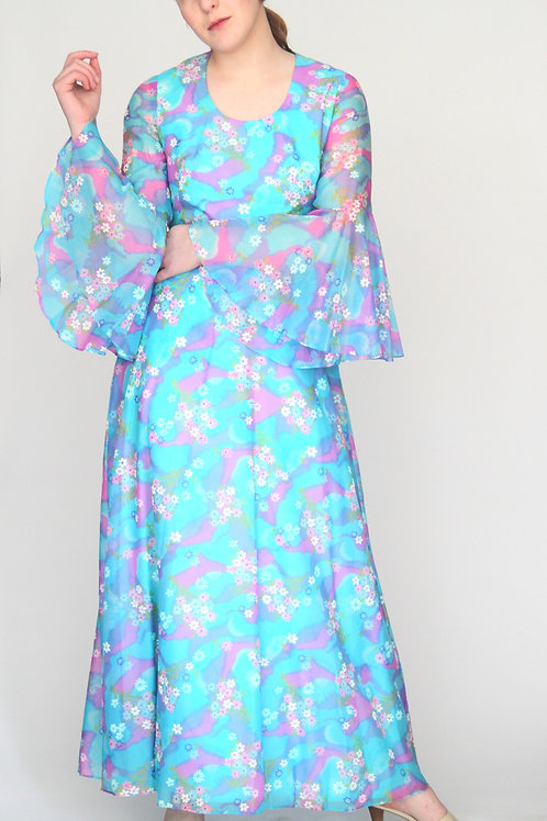Robe 70's Marche Large
