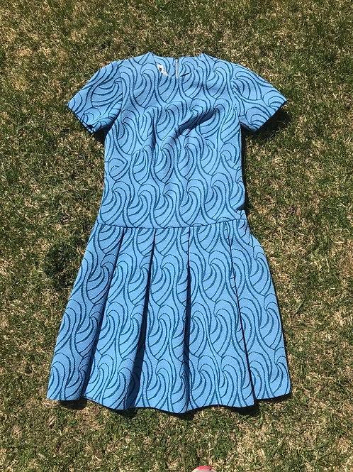 Robe 60's Bleu