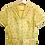 Thumbnail: Vintage 50's Chemise jaune or
