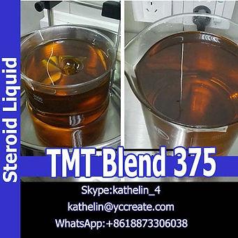 Steroid Liquid TMT Blend 375 For Bodybuilding Whatsapp:+