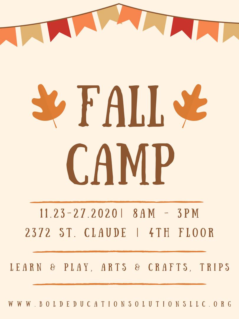 Fall Camp 2020