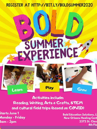 BOLD Summer Experience