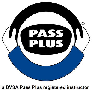 Pass Plus logo with strapline a DVSA reg