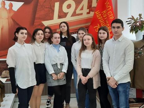 4 марта обучающиеся 10х классов гимназии посетили Центр истории ДГТУ.