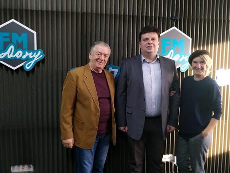 Обсуждаем тенденции современного образования на радио FM - на - Дону