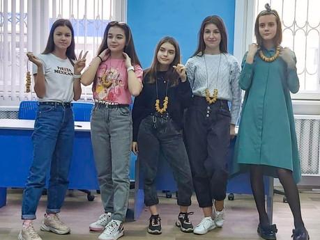 Гимназисты отметили Международный женский день.