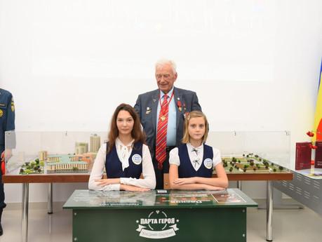 Образовательный проект партии «Единая  Россия» под названием «Парта Героя» стартовал в гимназии ДГТУ