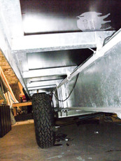 Integral Chassis Tank Fully Galvanised