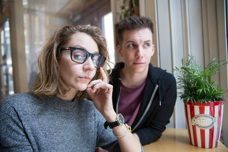 Léane et Pier-Luc