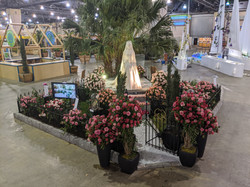 The Princess Grace Rose Garden Exhibit