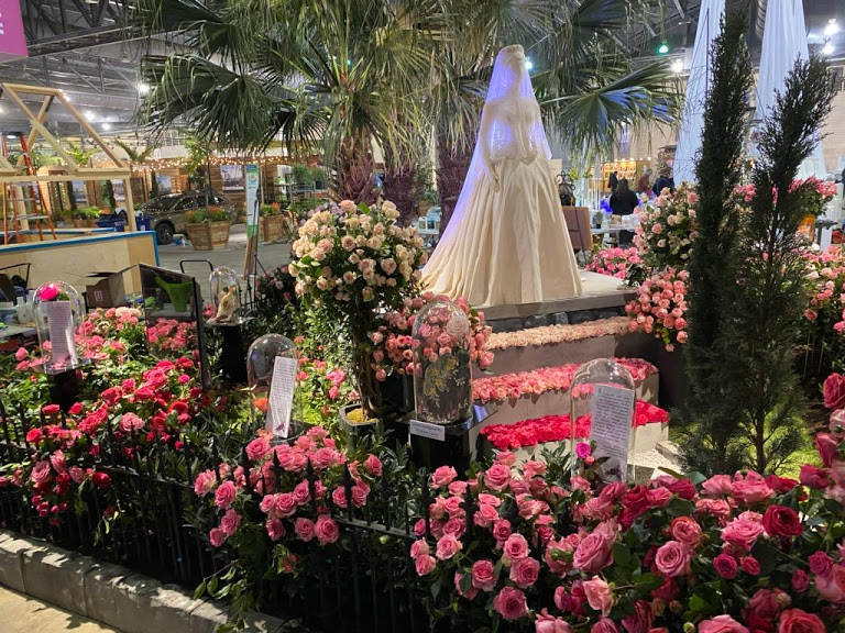 The Princess Grace Rose Garden Exhibit