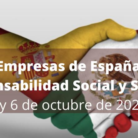 Primer Foro de Empresas  de México España por la Responsabilidad Social y Sostenibilidad