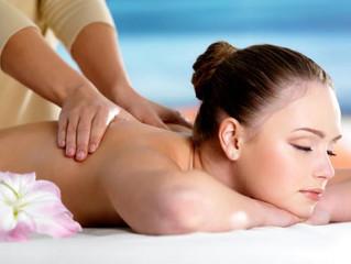 Benefícios da massagem relaxante