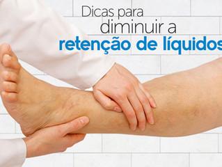 Retenção de líquidos: Saiba como diminuir o inchaço do corpo !