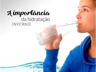 A importância da hidratação no inverno