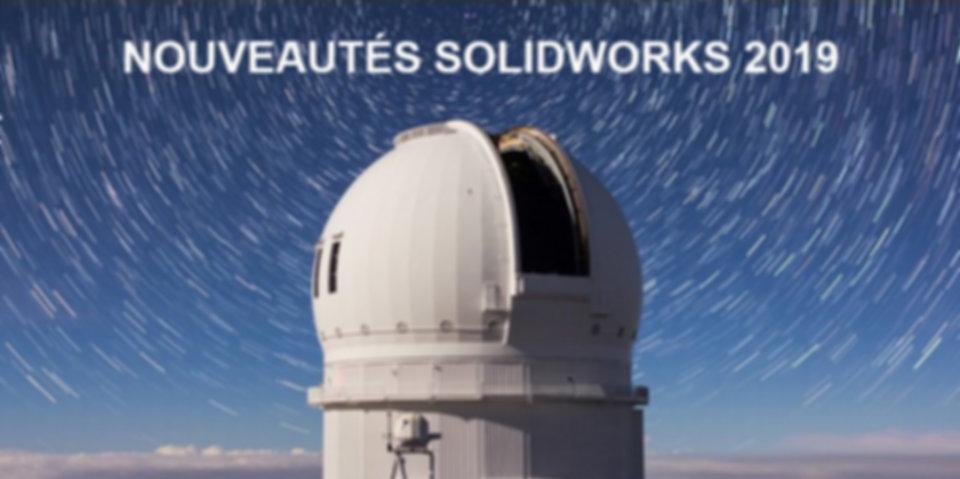 sw solidworks 2019 observatoire MONTAGE.