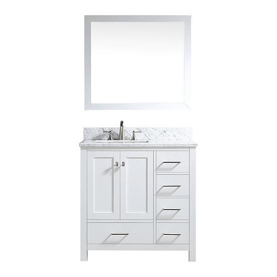 Vanity JW10036-White