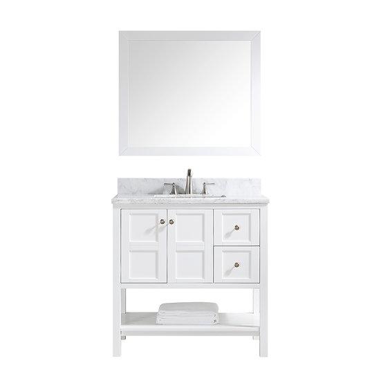 Vanity JW20036 White
