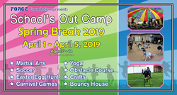 2019 Schools Out Camp Event Banner