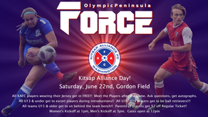 Kitsap Alliance Day for Force Double Header