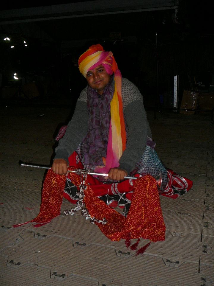 Kachi-Godi dancer
